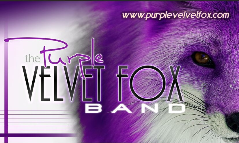 Purple Velvet Fox - will play in front of The Redlands Art Tent from 11AM-3PM