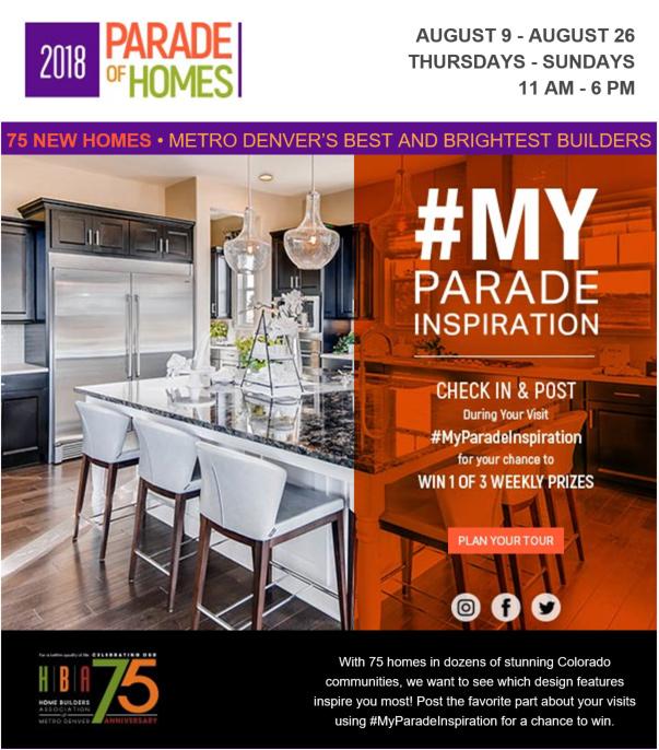 2018 Parade of Homes Details