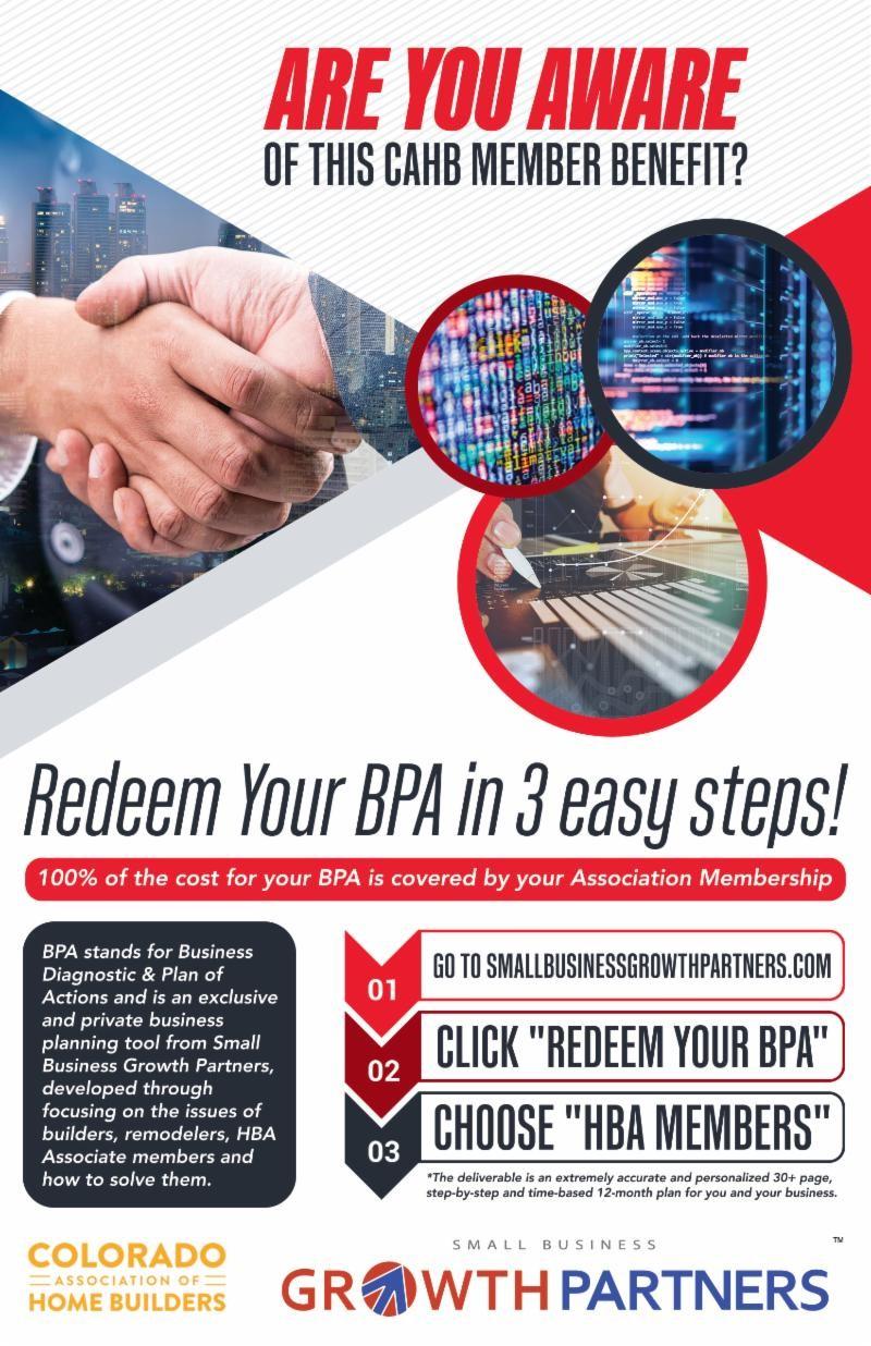 BPA redeem BPA 3 Steps