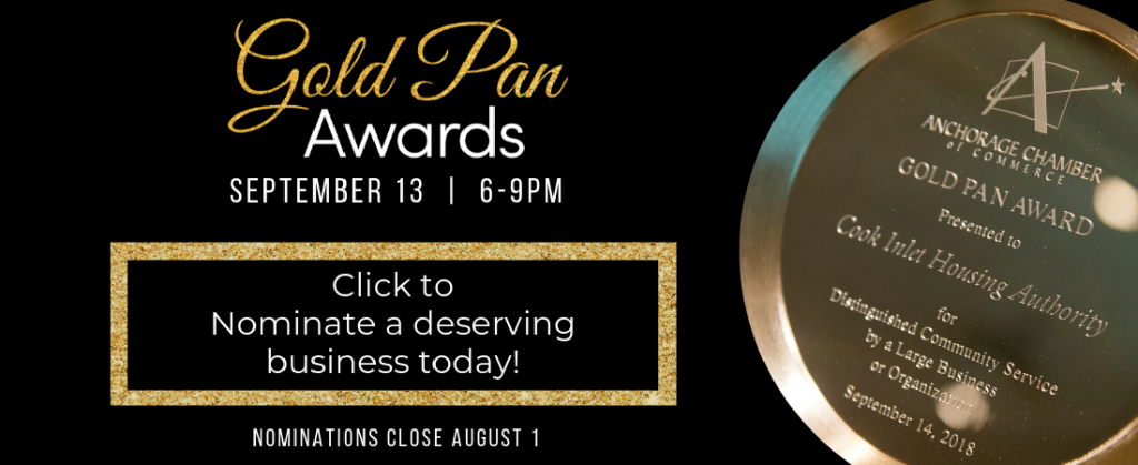 Nominate a business for a Gold Pan Award