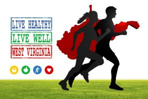 Live Healthy Live Well WV Logo