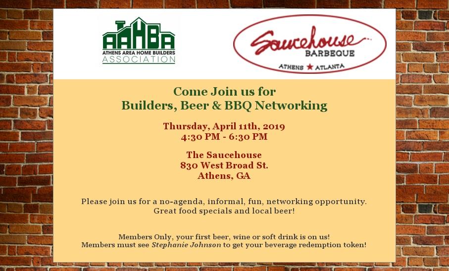Builders Beer & BBQ 4-11-19
