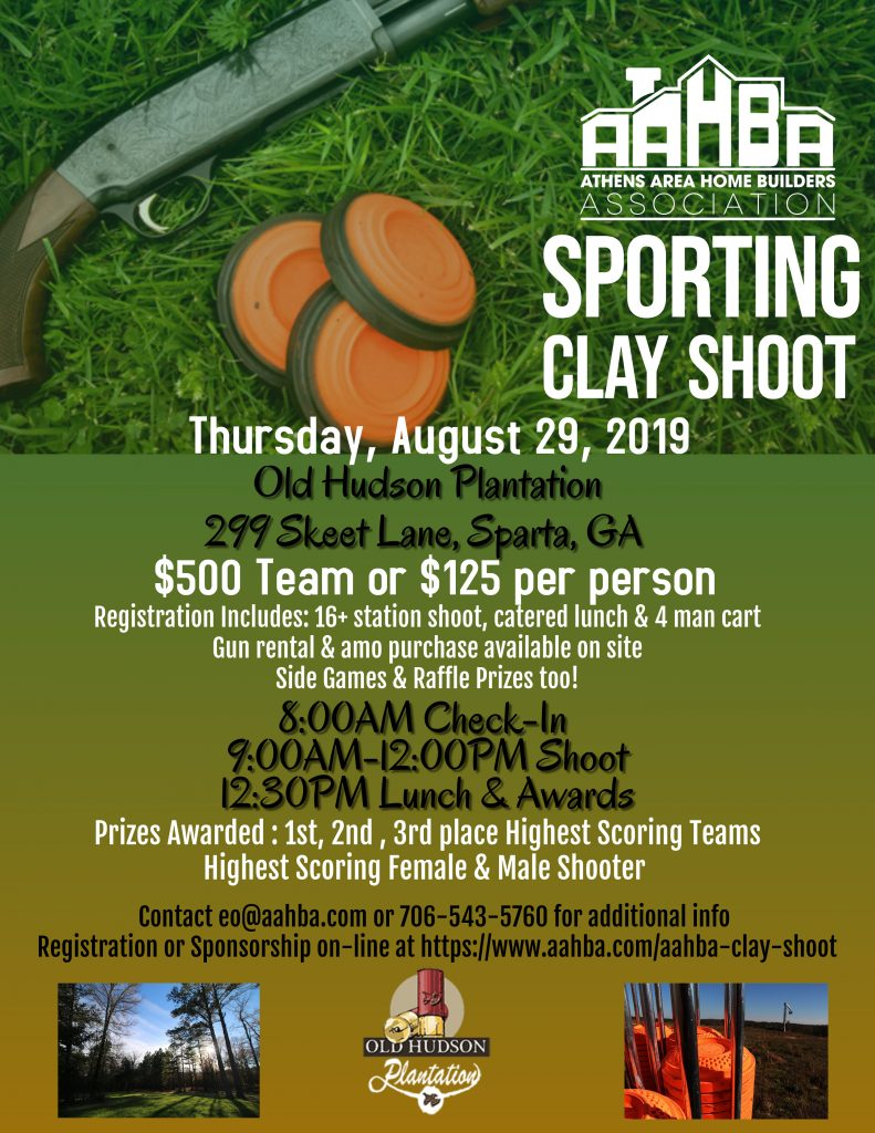 Sporting Clay Shoot Flyer 2019