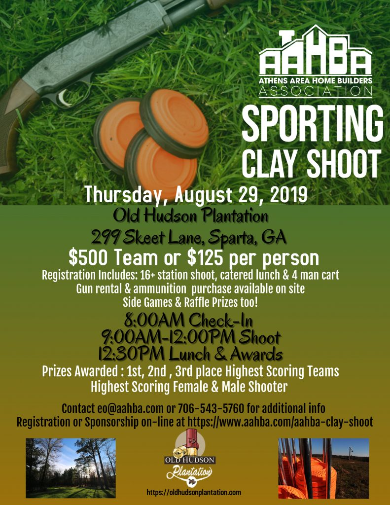 Sporting Clay Shoot 2019 Flyer Revised