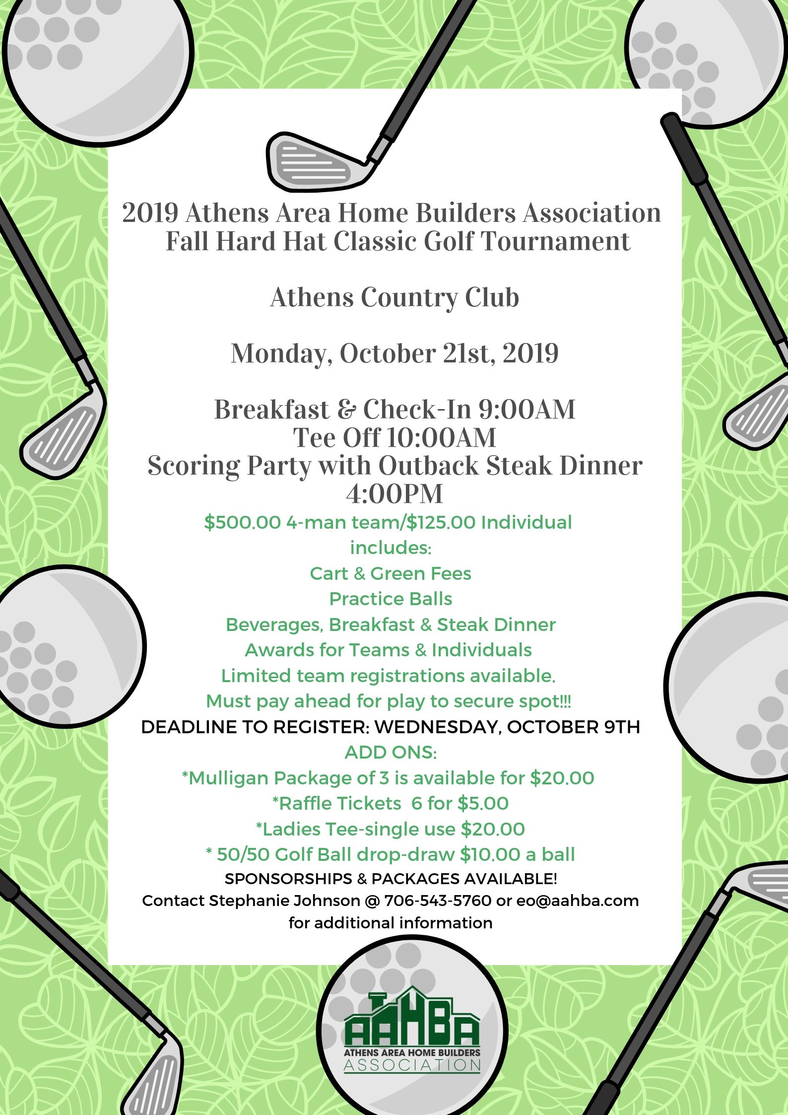 2019 Fall Hard Hat Classic Golf Tournament (3)