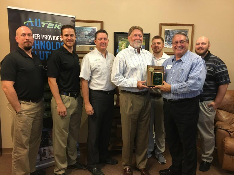 October 2017 Winner, Alltek Services