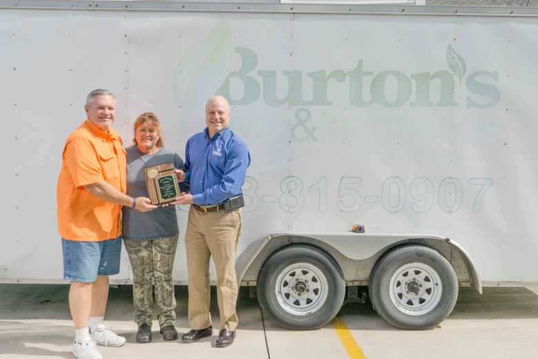April 2017 Winner, Burton's Lawn & Landscape, Inc.