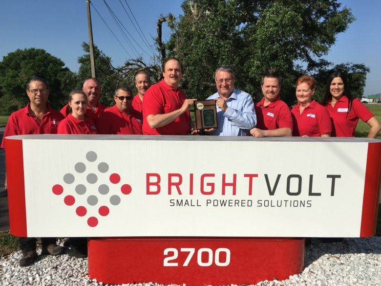 April 2016 Winner, BrightVolt