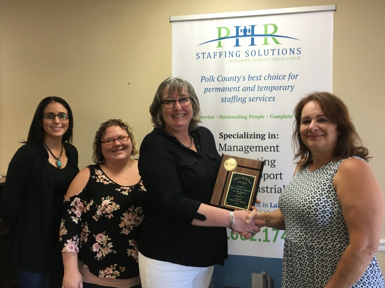 August 2017 Winner, PHR Staffing Solutions