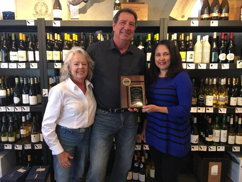 November 2016 Winner, Ric's Wine Market