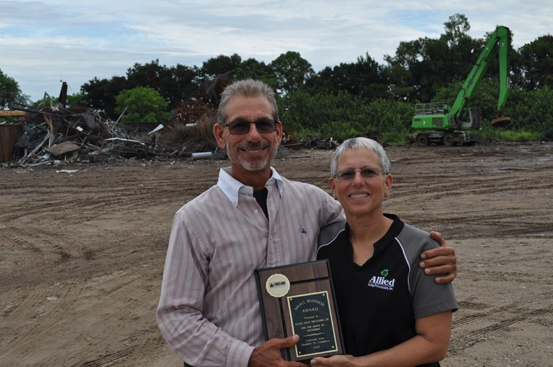 September Winner, Allied Scrap Processors