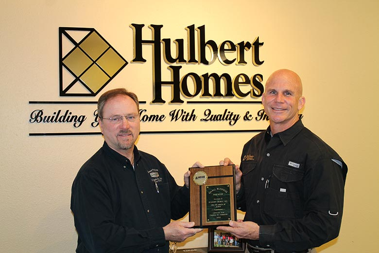 March Winner, Hulbert Homes, Inc.