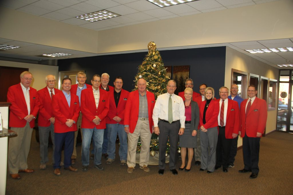 On December 18, Chamber Ambassadors hosted a courtesy call with Boone Bank & Trust (716 8th Street), visiting with bank President Jeff Putzier and staff.