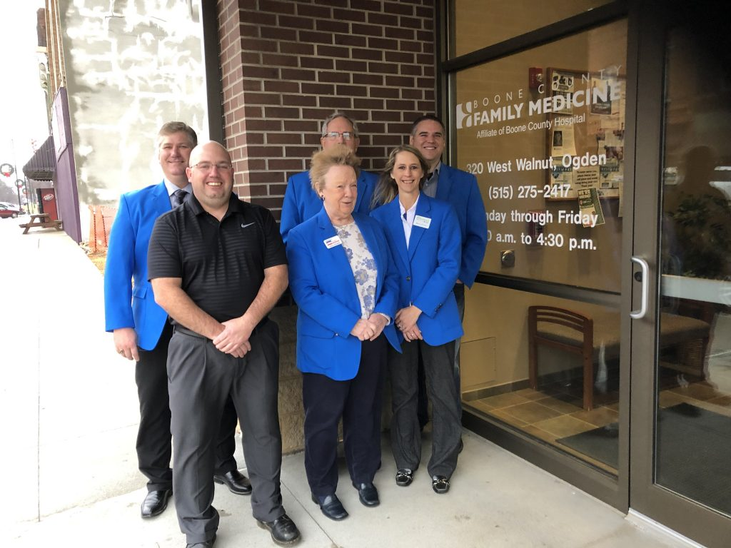 Ogden Ambassadors visited Keith Vermillion, Clinic Director at Boone County Family Medicine (320 West Walnut) for a courtesy call on December 20.