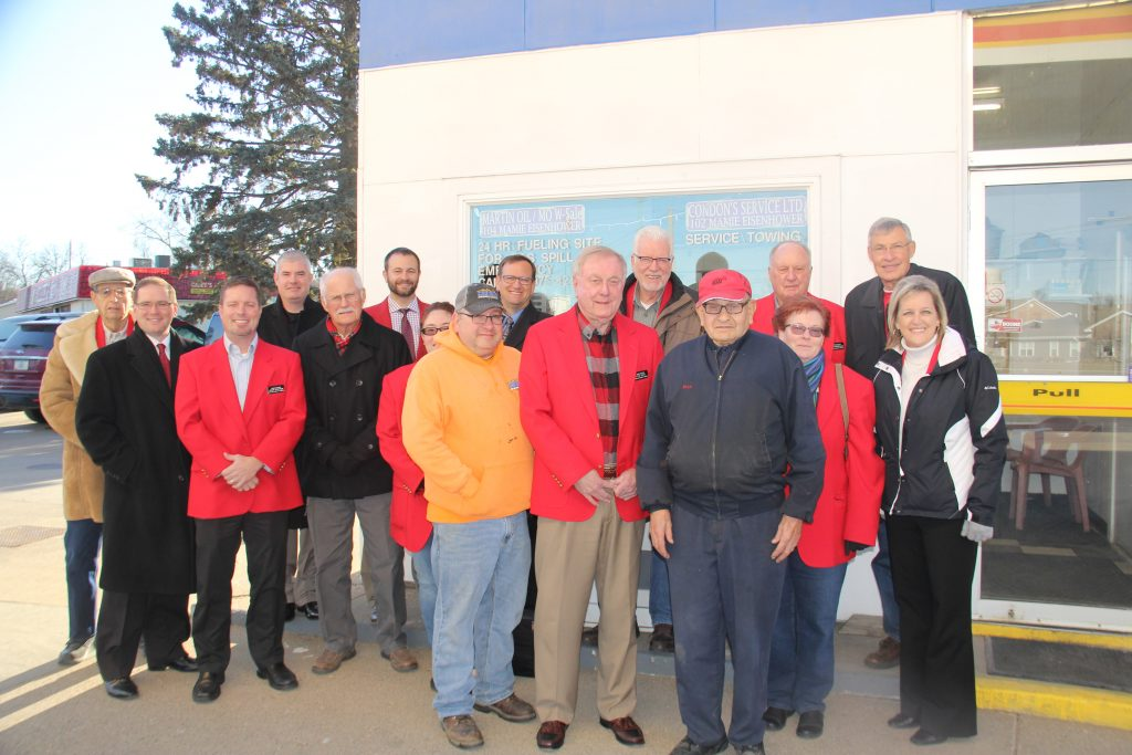 Owner Vern Condon and staff met with Chamber Ambassadors during a courtesy call on November 27 at Condon's Services Ltd (102 Mamie Eisenhower Avenue).