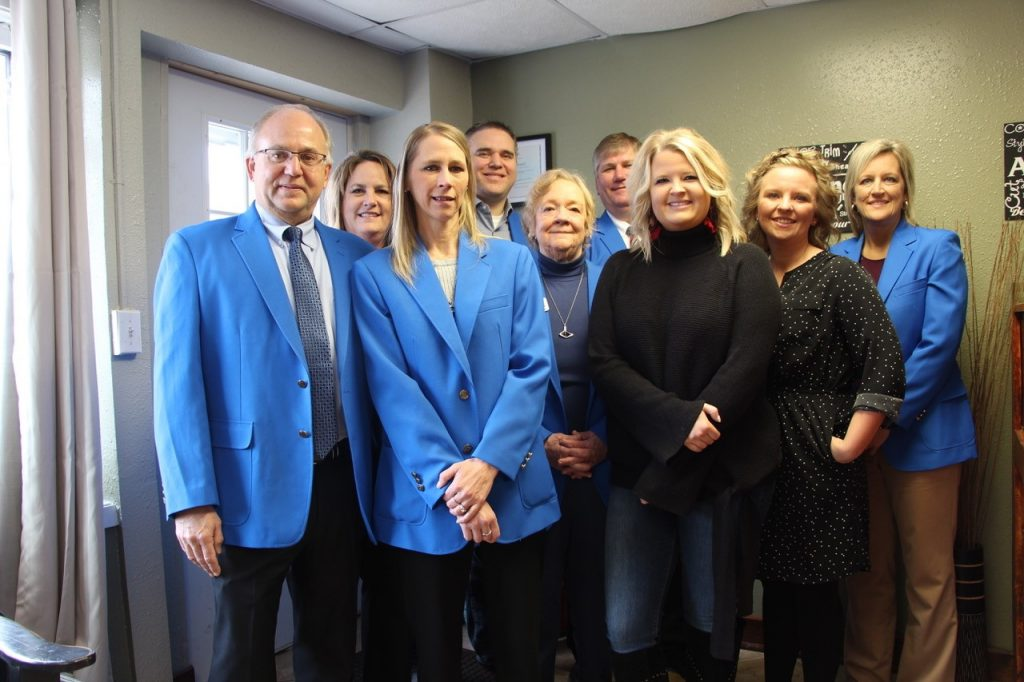 On February 28, Ogden Ambassadors visited Allie & Whitney at Allie's Hair Care (238 West Walnut Street) for a courtesy call.