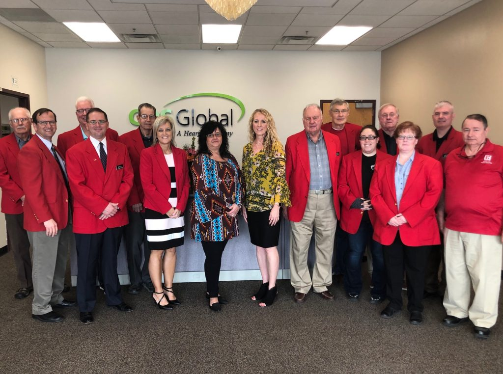 On April 9, Chamber Ambassadors hosted a courtesy call with Rhonda Nelson and staff of CDS Global (2005 Lakewood Drive).
