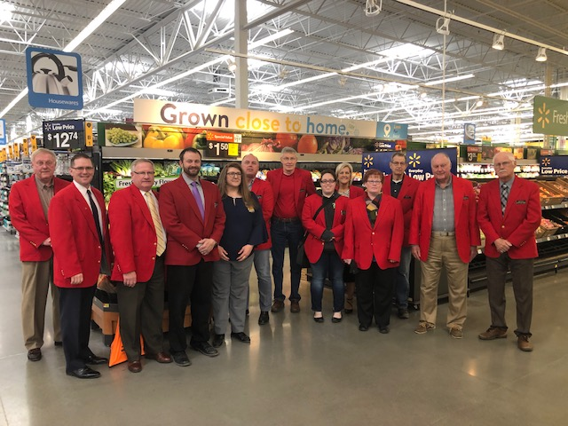 On April 2, Chamber Ambassadors hosted a courtesy call with Angel Boring, Manager of Wal-Mart (1515 SE Marshall Street).