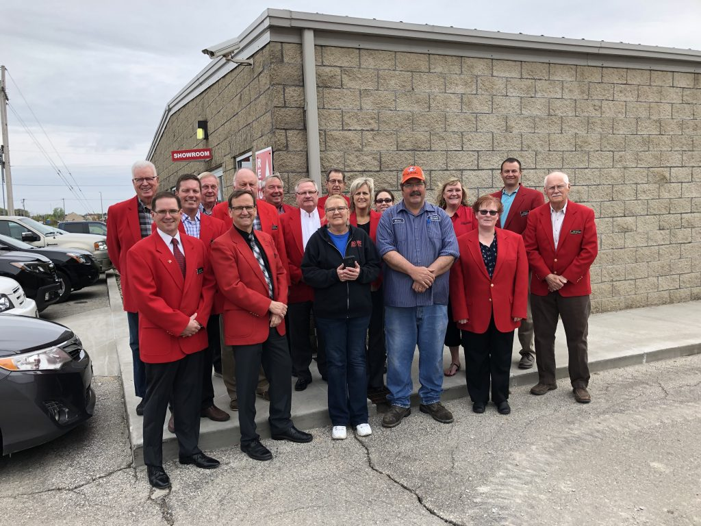 Chamber Ambassadors hosted a courtesy call with Vern and staff of Boone Rental Sales & Service (1810 S Linn Street) on May 7.