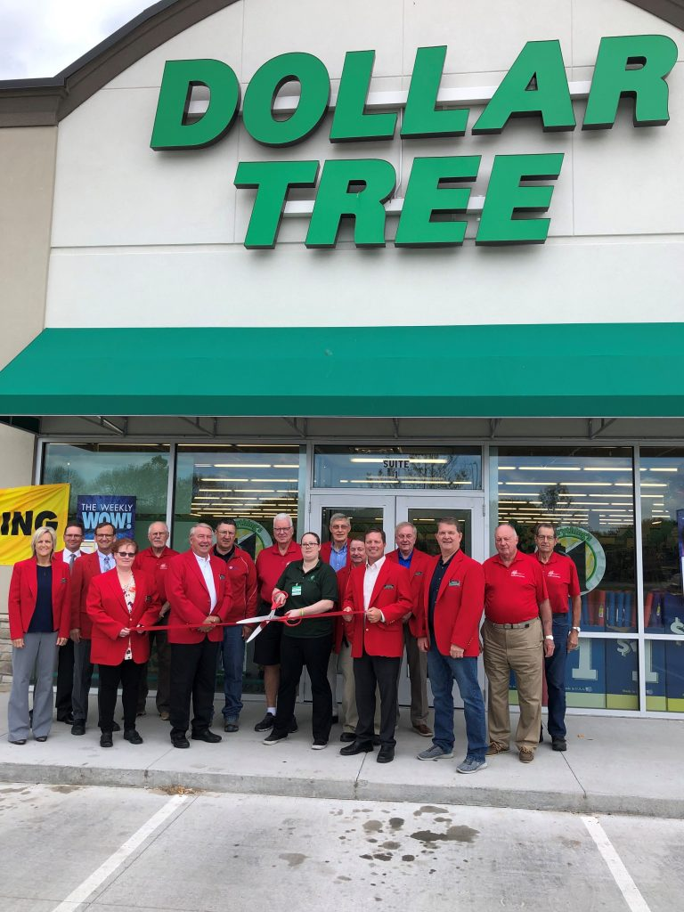 On June 11, Chamber Ambassadors along with management Dollar Tree celebrated the grand opening of the new store (1504 S. Story Street, Suite #1) with a ribbon cutting.