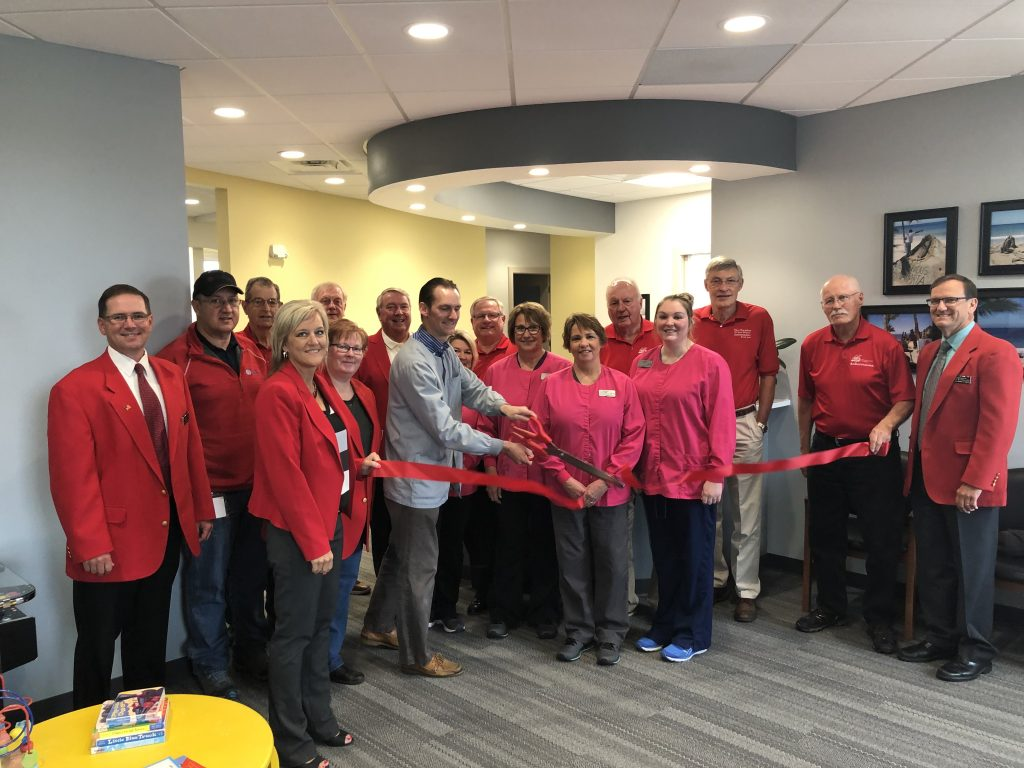 The owner and staff of Boone Family Dentistry (1515 S Marshall Street) and Chamber Ambassadors celebrated the new location with a ribbon cutting on June 18.