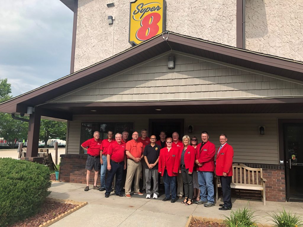 Chamber Ambassadors hosted a courtesy call with Bob Patel, owners of Super 8 (1715 S Story Street) on July 2.