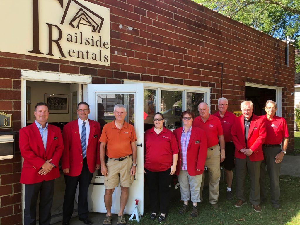 On August 27, Chamber Ambassadors met with owner Dave Johnson from  Trailside Rentals (326 W. 2nd Street - Madrid) for a courtesy call.