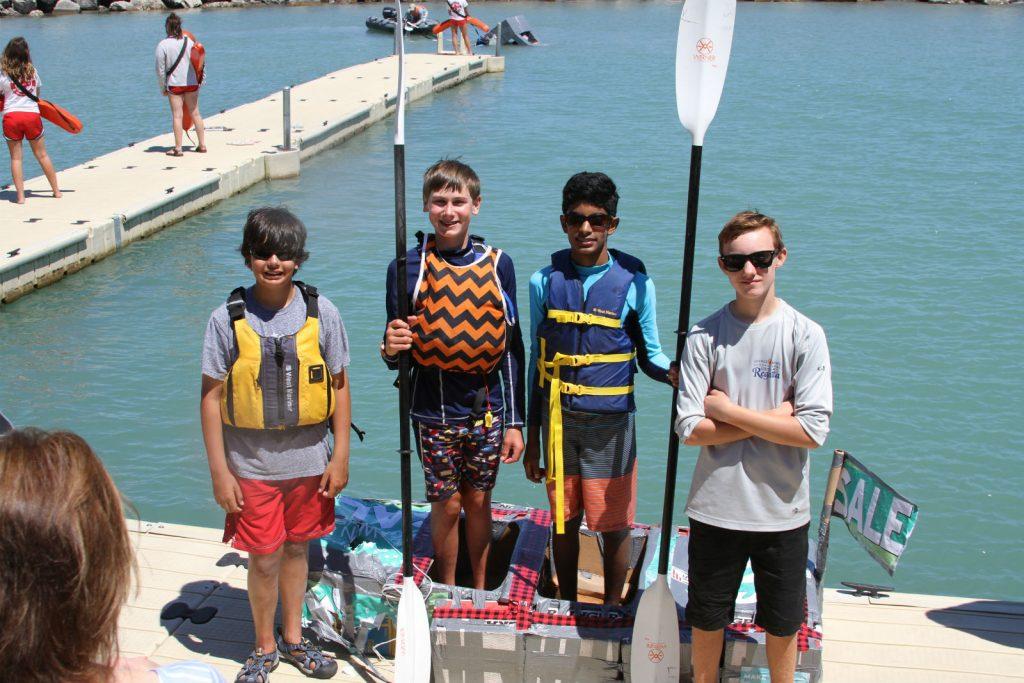 Cardboard Canoe Regatta