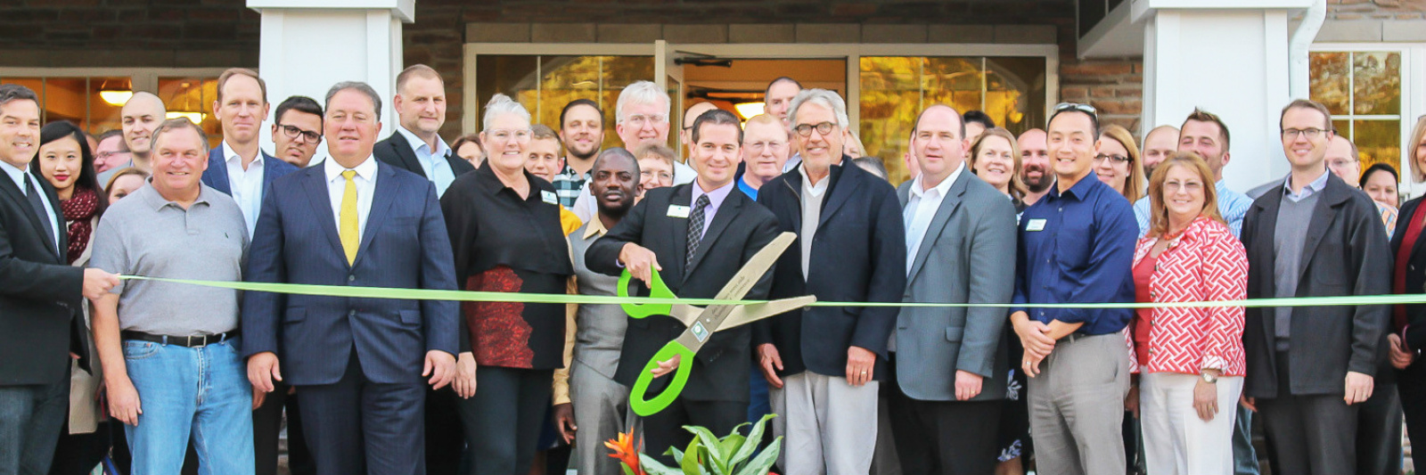 Edencrest Ribbon Cutting