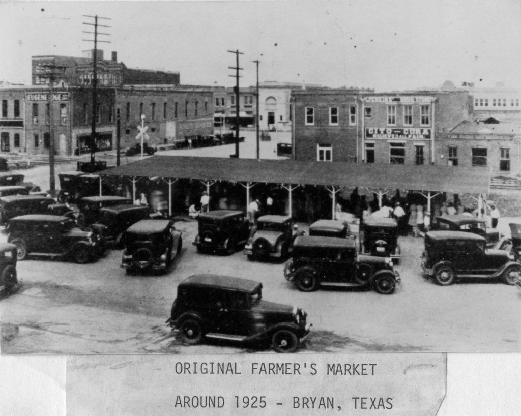 farmer's market - 1925