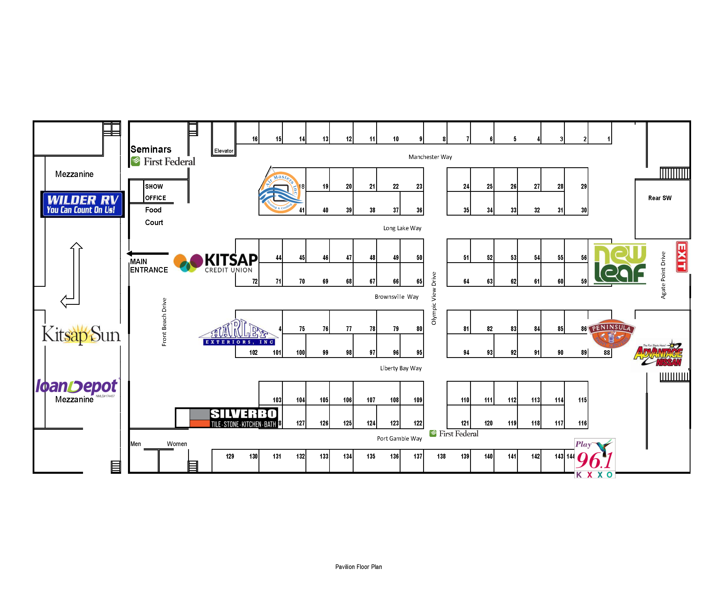 Floor Plan - Pavilion Spring 2019 Expo Guide