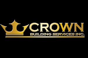 crown building services logo
