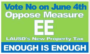 no on measure ee lausd parcel tax