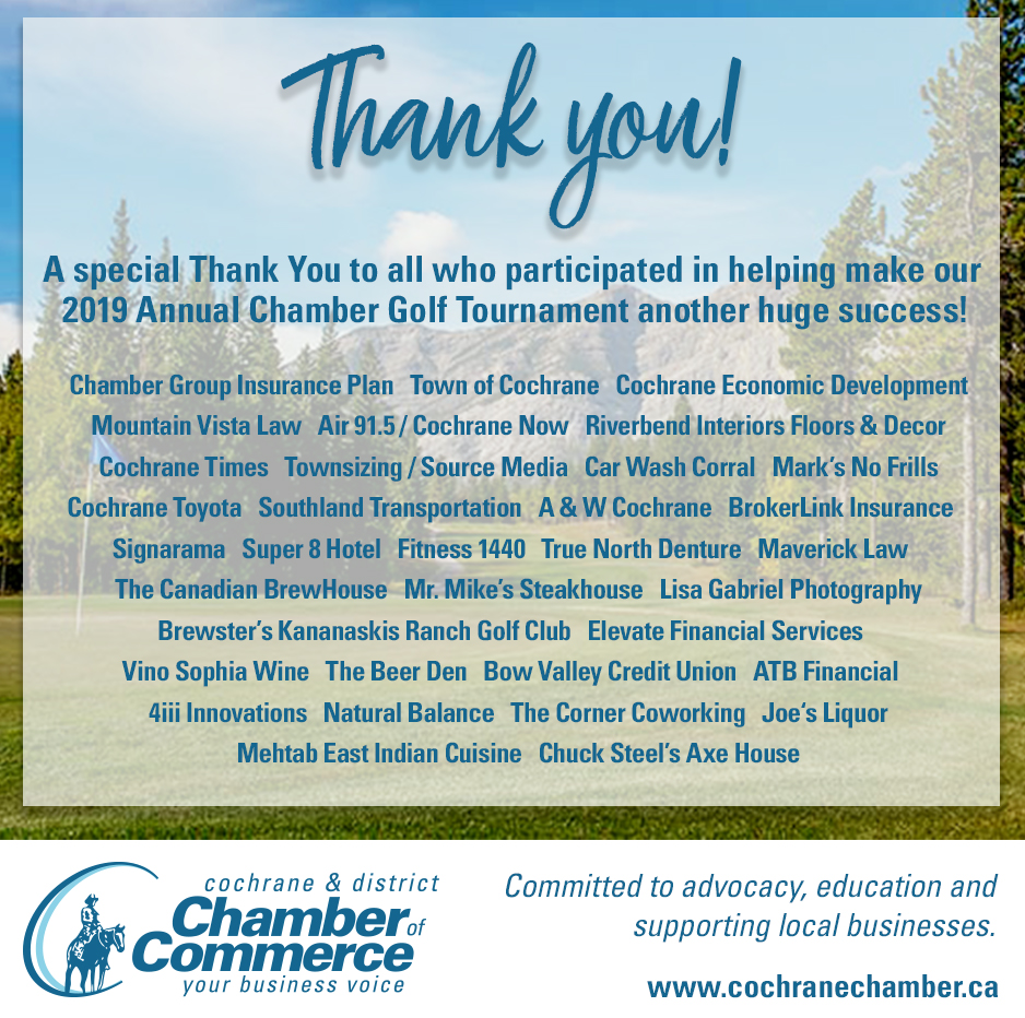 Chamber Eagle Thank You ad