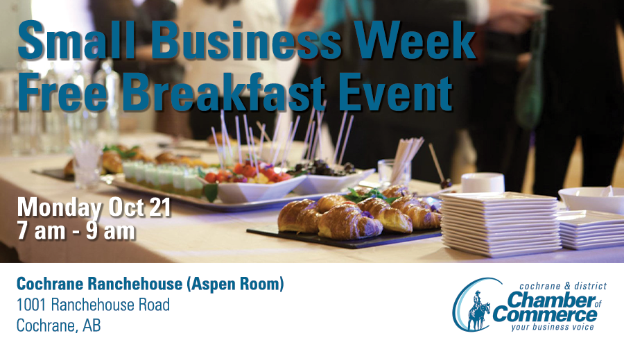 Chamber Small Business Week Breakfast Event