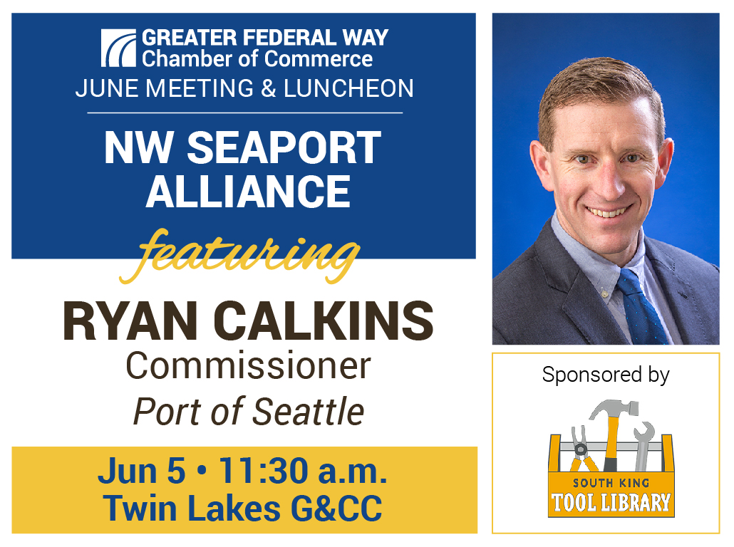 June 2019 Luncheon NW Seaport Alliance