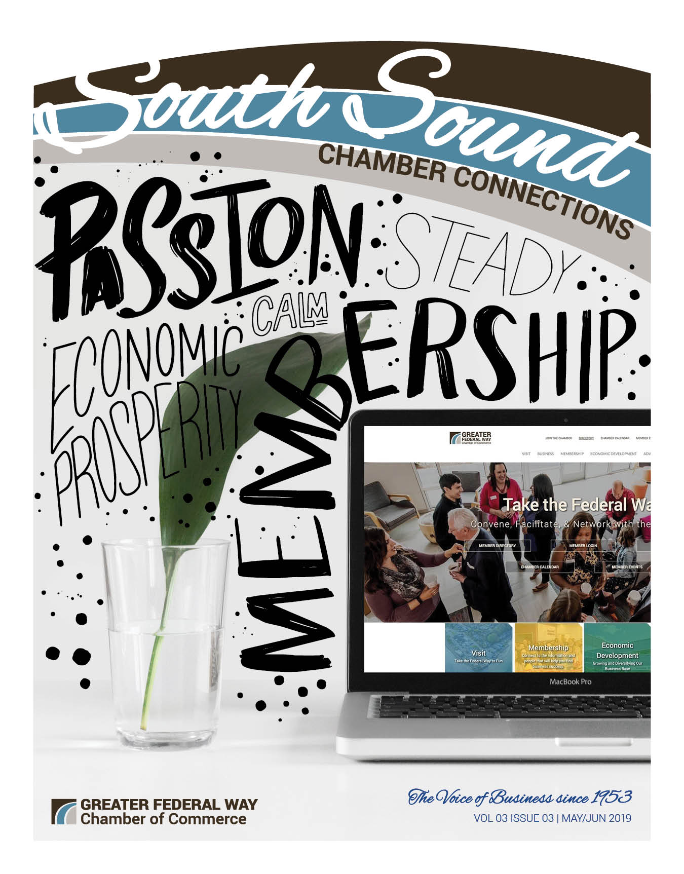 South Sound Chamber Connections - May/Jun 2019 Issue Cover