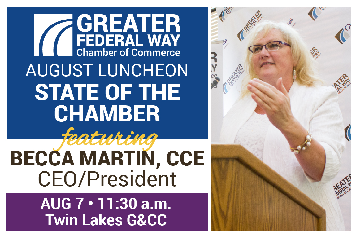 August 2019 Luncheon State of the Chamber