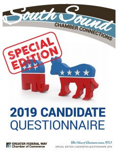 South Sound Chamber Connections - SPECIAL Candidates Questionnaire 2019