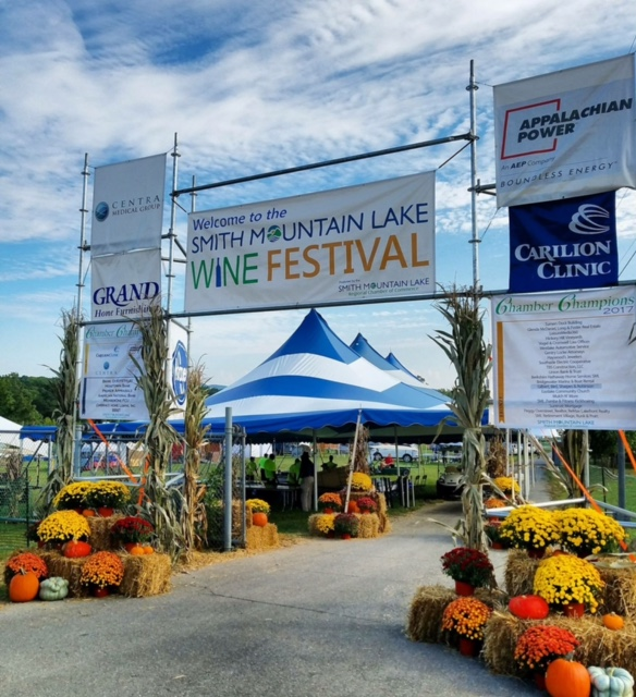 SML Wine Festival welcome