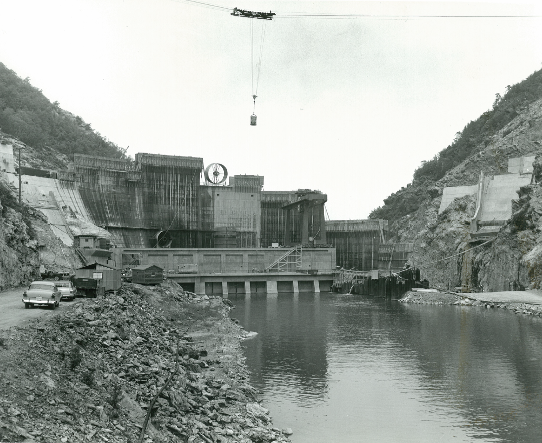 Construction of SML Dam