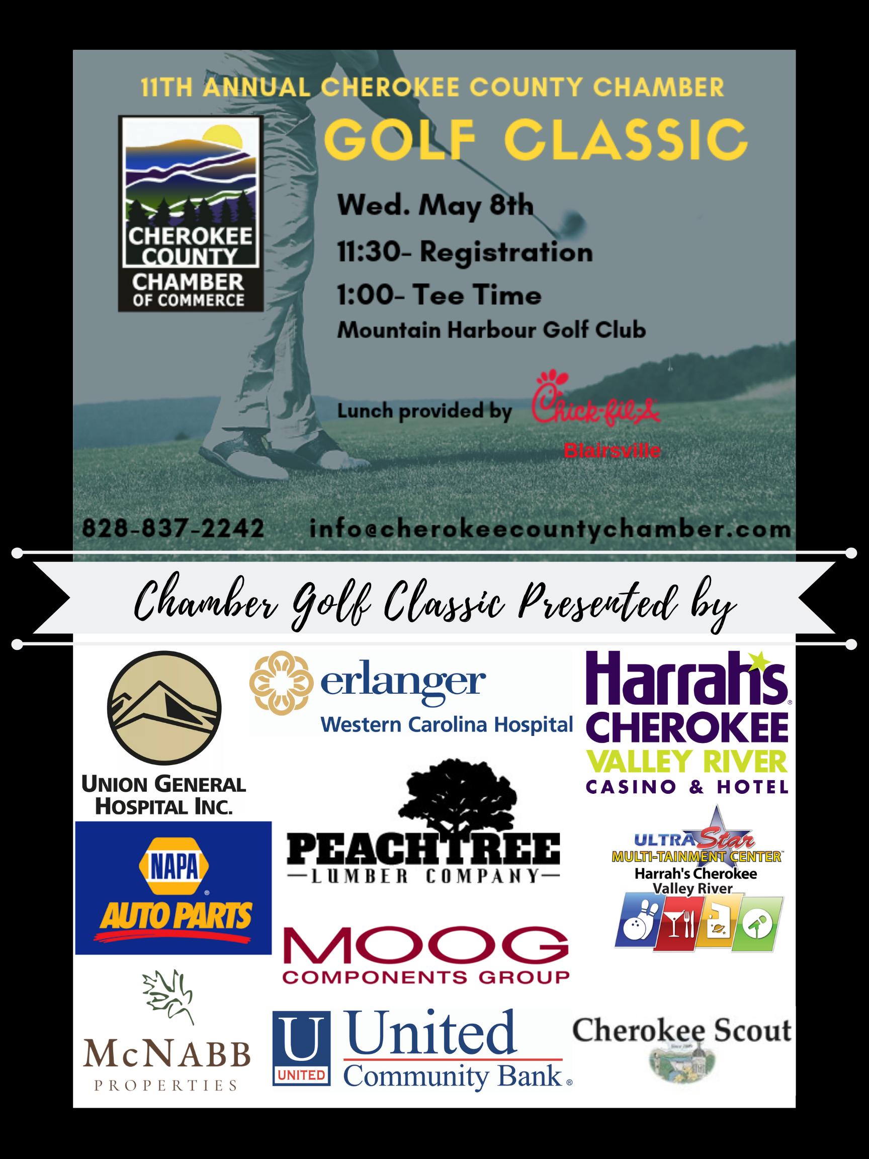 2019 Cherokee County Chamber Golf Classic