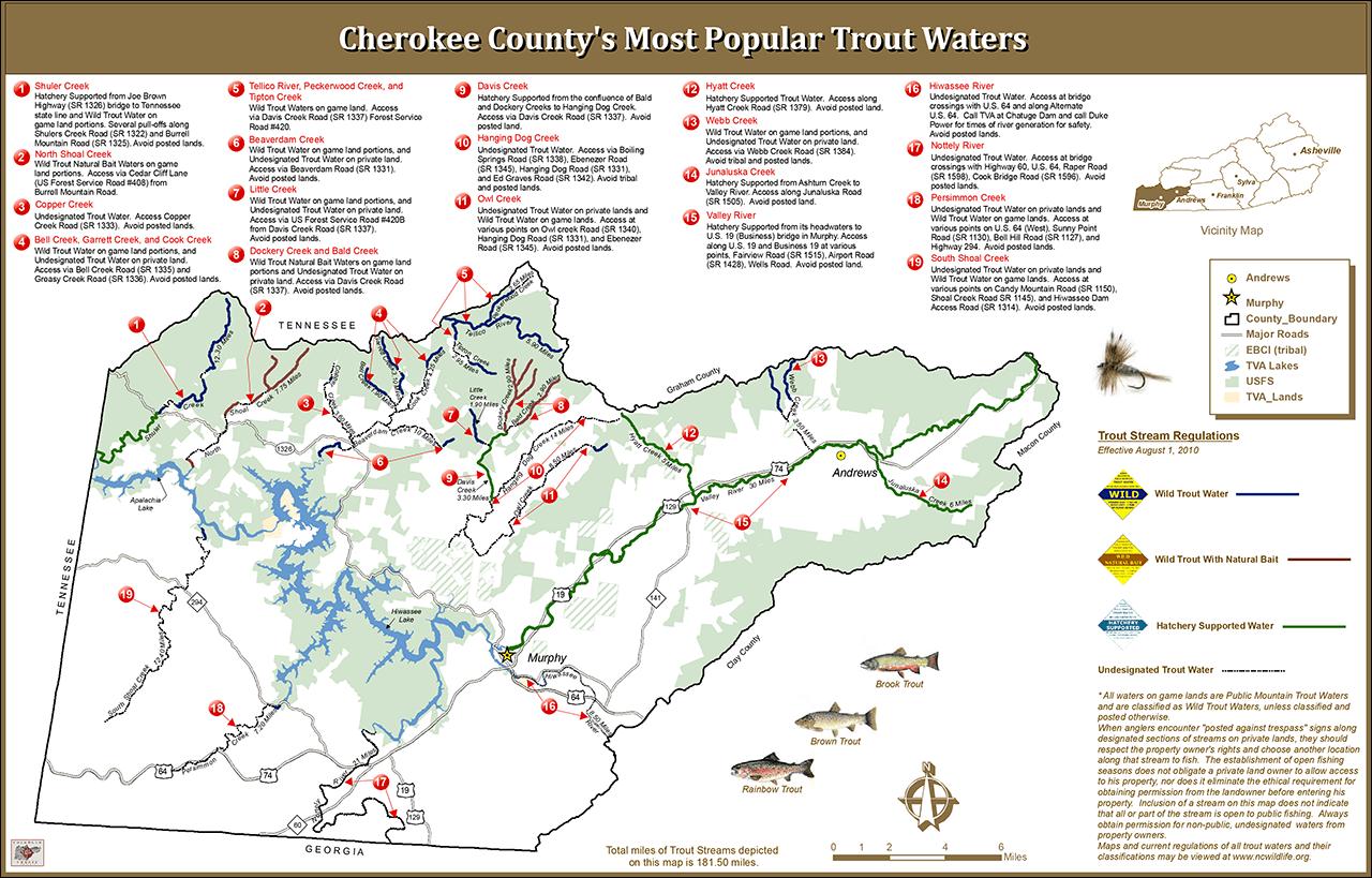 Cherokee County Fishing Hot Spots