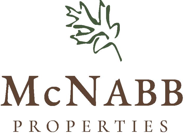 McNabb Logo, Green Leaf Hi-Res PNG