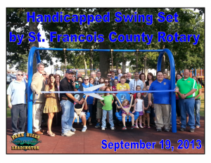 Handicapped Swing By St. Francois County Rotary