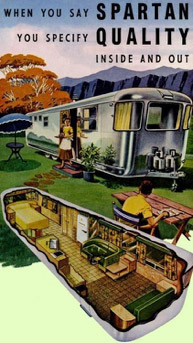 Spartan mobile home ad