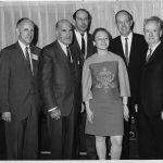 James, Bryan, Steve Furth, Robert S. Taylor, Sheryl Wormley, Bernie Fry (l to r)