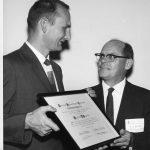 Bourne, Charles P. receiving Award of Merit.