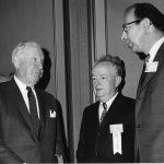 Bernie Fry (center)