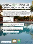 Florida Green Lodging Certification Workshop